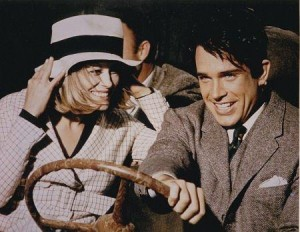 Bonnie and Clyde on the run